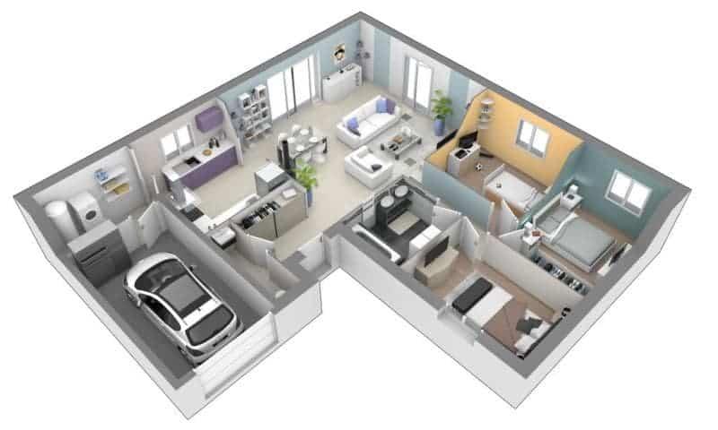 Plan de maison ; comment dessiner une maison ? - Blog de Bricolage