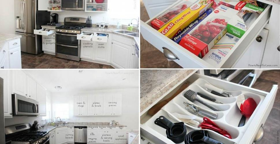 Comment Organiser Sa Cuisine Blog De Bricolage