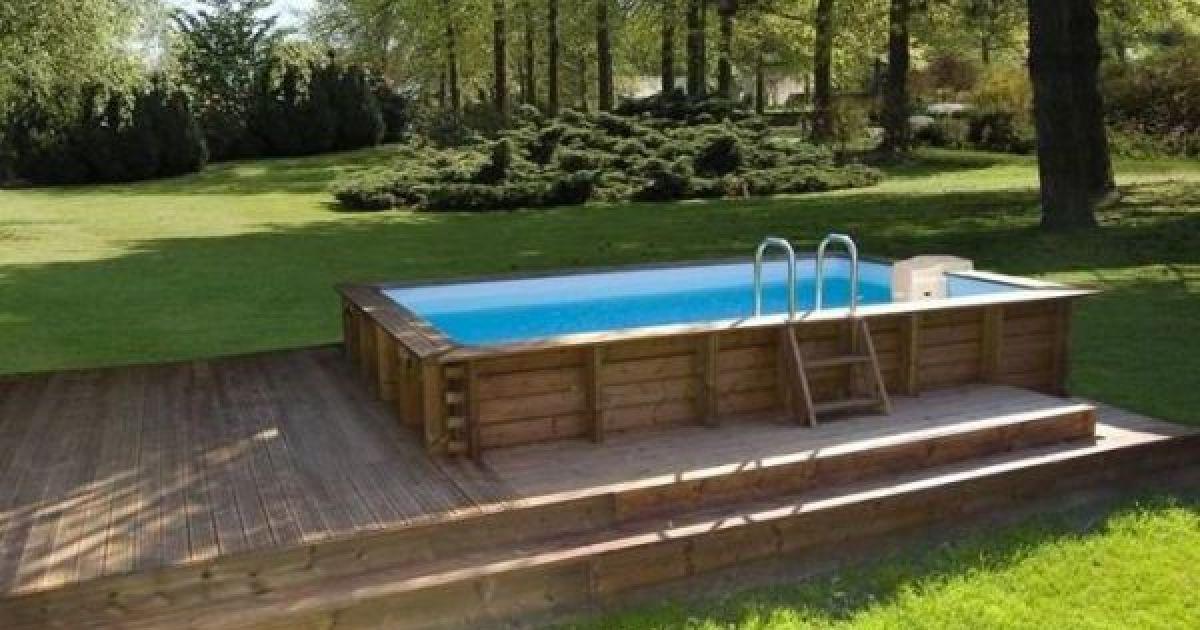 comment habiller une piscine hors sol en bois blog de bricolage